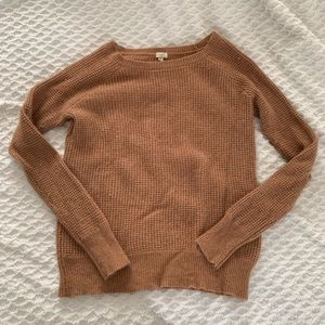 J crew neutral pullover sweater, sz s